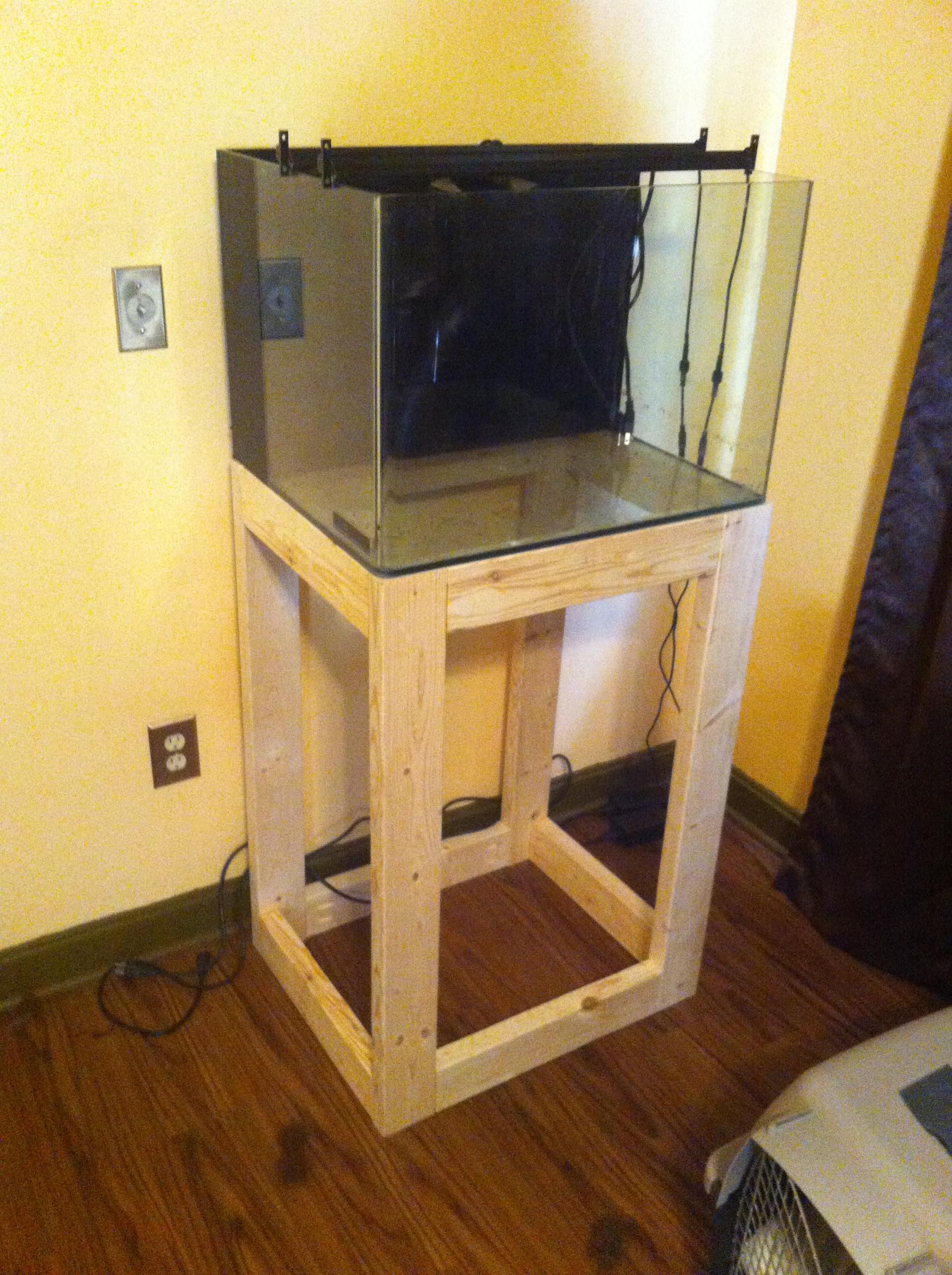 Jbj 30 Gallon Rimless Build Saltwaterfish Com Forums For