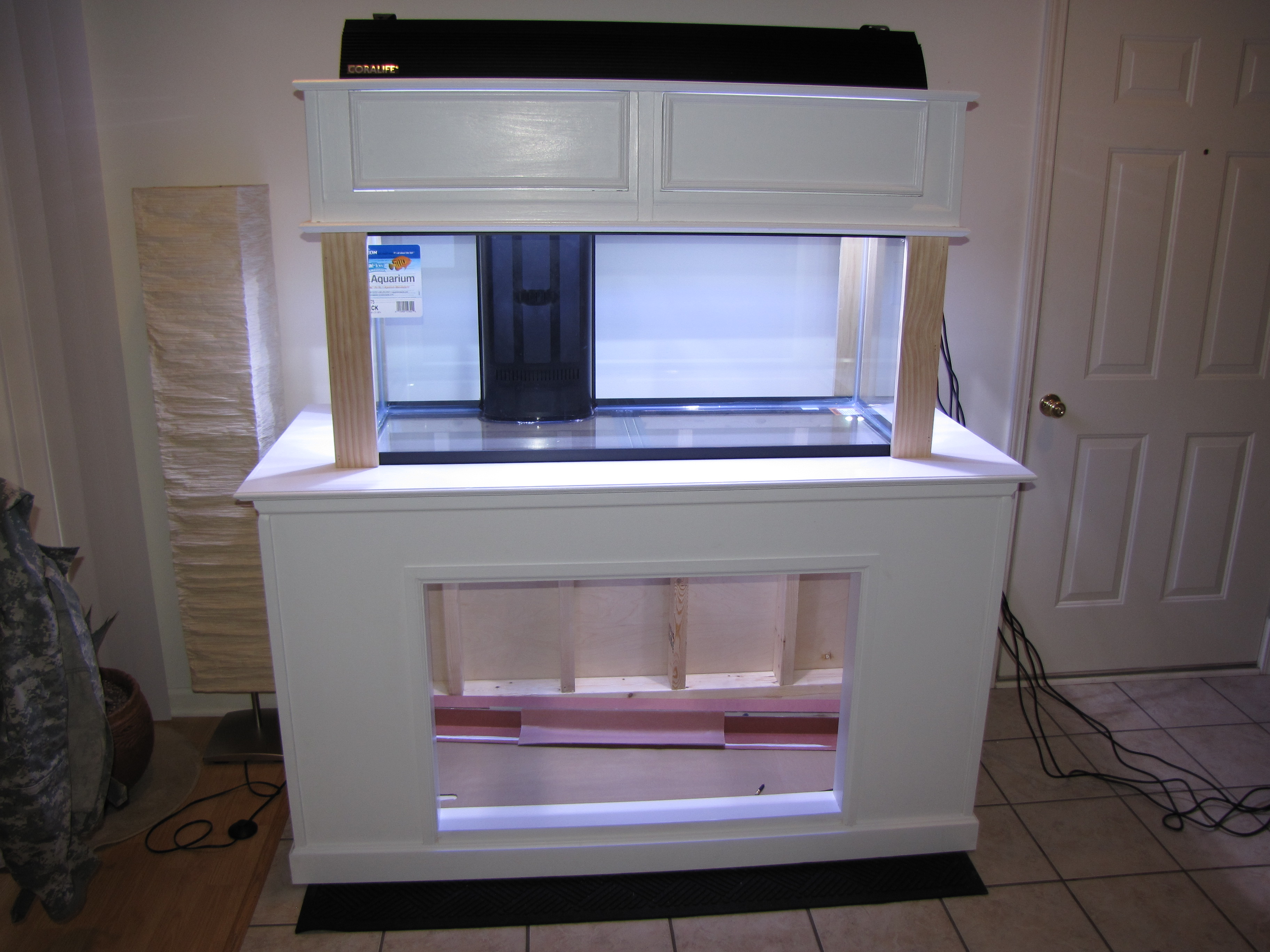 New Diy Stand And Hood Saltwaterfish Forum